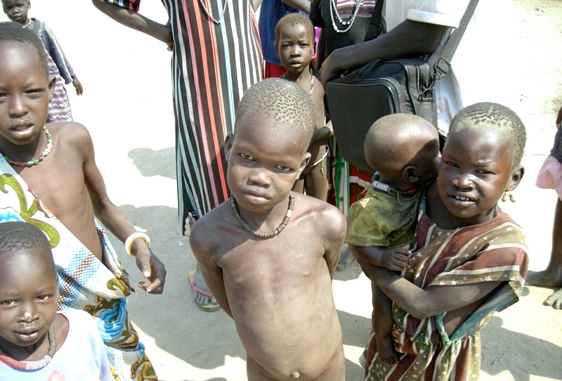 Children of Lile Village, South Sudan